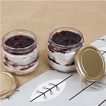 blurberry jar cake